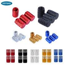 AQTQAQ 4 Pcs/Lot capuchon de Valve de tige de pneu