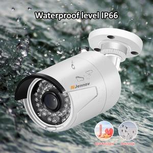 Image 5 - 5MP POE กล้อง IP P2P กลางแจ้งการเฝ้าระวังวิดีโอชุด H.265 ONVIF 2MP Home Security กล้อง IR Night APP ระยะไกลดู ipcam