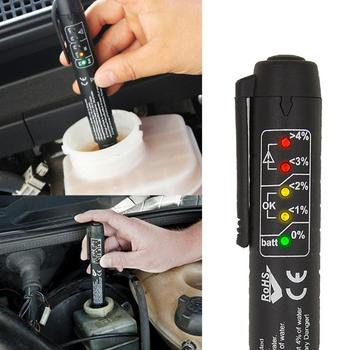 Płyn hamulcowy Tester cieczy Tester oleju Auto 5 LED samochód narzędzie do testowania do testowania DOT3 DOT4 DOT5 płyn hamulcowy tanie i dobre opinie CN (pochodzenie) Brake fluid tester