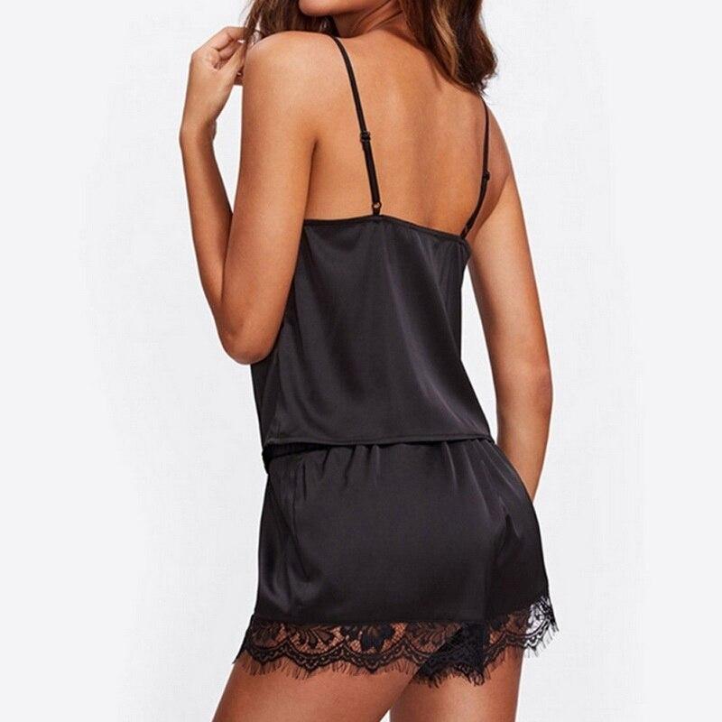Ensemble de pyjama Sexy en dentelle pour femmes