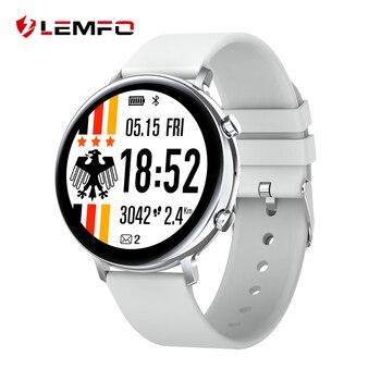 LEMFO PPG + ECG Smart Watch 2020 Full Touch Bluetooth Call IP68 Waterproof Smartwatch Men For Android IOS Phone Women Watch lemfo professional sport smart clock ip68 5atm waterproof watch men outdoor smartwatch for android ios 10 days standby