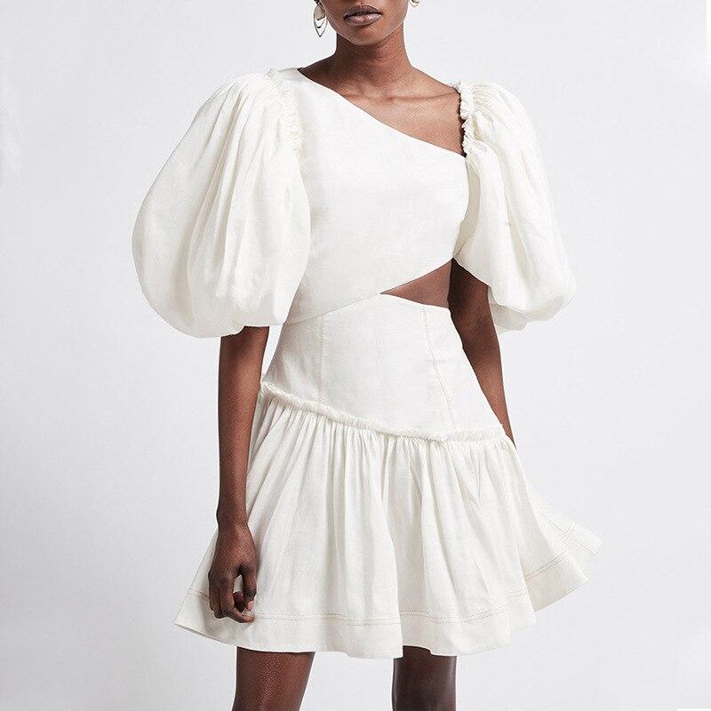 2021 New arrive V-neck women summer dress 4