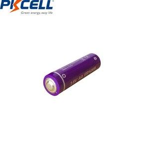 Image 4 - 6 LiSCLO2 ER14505 pçs/lote PKCELL 3.6V 14505 2400mah AA Bateria Superior LR6 R6P 1.5V Baterias Para Câmeras de Rastreamento GPS