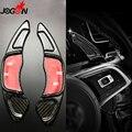 Углеродное волокно для VW GOLF GTI R GTD GTE MK7 7 2013-2017 Scirocco 15-17 весло для руля удлиняющее колесо для переключения передач