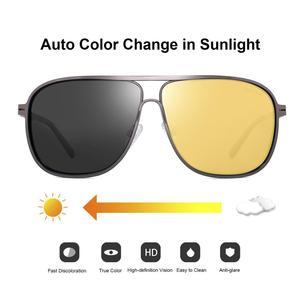 Мужские очки ночного видения для автомобиля женские с антибликовым покрытием желтые поляризованные солнцезащитные очки для вождения очки ...