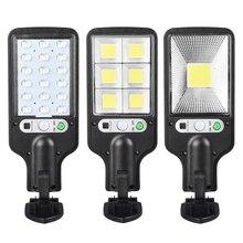Ultra Große COB Solar Licht PIR Motion Sensor Lumen Weihnachten Licht Outdoor Solar Street Lampe Wasserdichte Lampe Gebaut In Battety