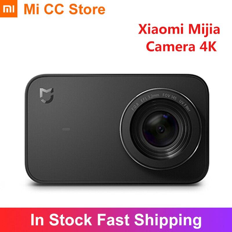 Xiaomi Mijia Camera 4K 30fps Action Video Recording Mini Smart Camera 2.4 Inch Touch Screen 1450mAh Battery Mijia APP control|Point & Shoot Cameras| - AliExpress