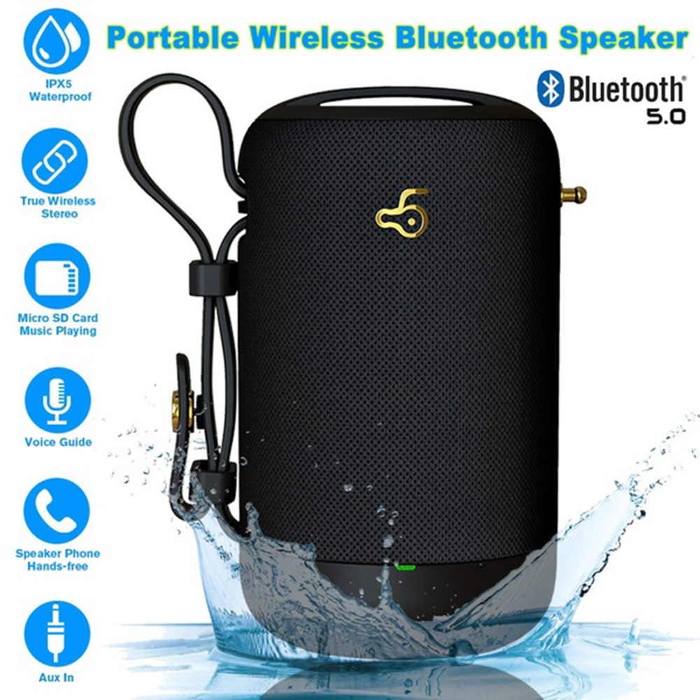 ミニ Bluetooth スピーカーコラムワイヤレスポータブルサウンド電話ホルダーサポート TF FM カード屋外ポータブル Bluetooth 小型スピーカー