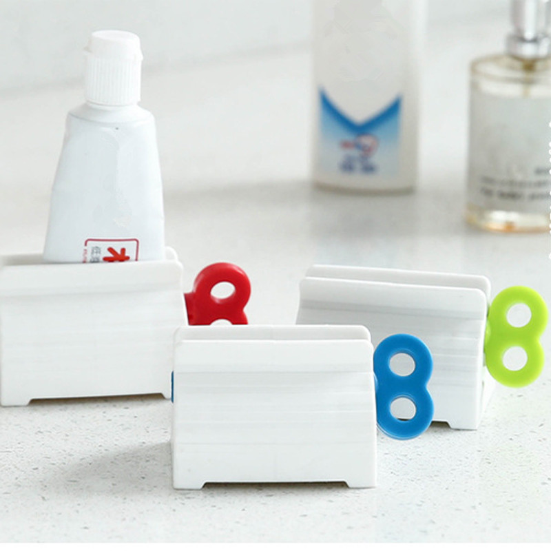 Convenient Toothpaste Rolling Tube Toothpaste Squeezer Stand Holder Multifunction Squeezer/toothpaste Squeezers