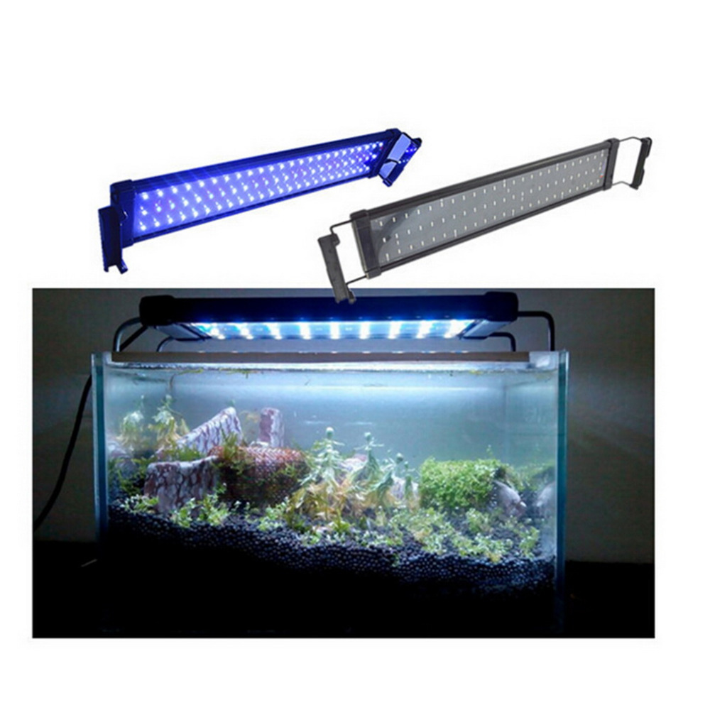 Waterproof Marine Aquarium Fish Tank Fishbowl Lighting LED Aquarium Light SMD 6W 28 CM Lamp LED Bar Lights Lamp US/EU Plug