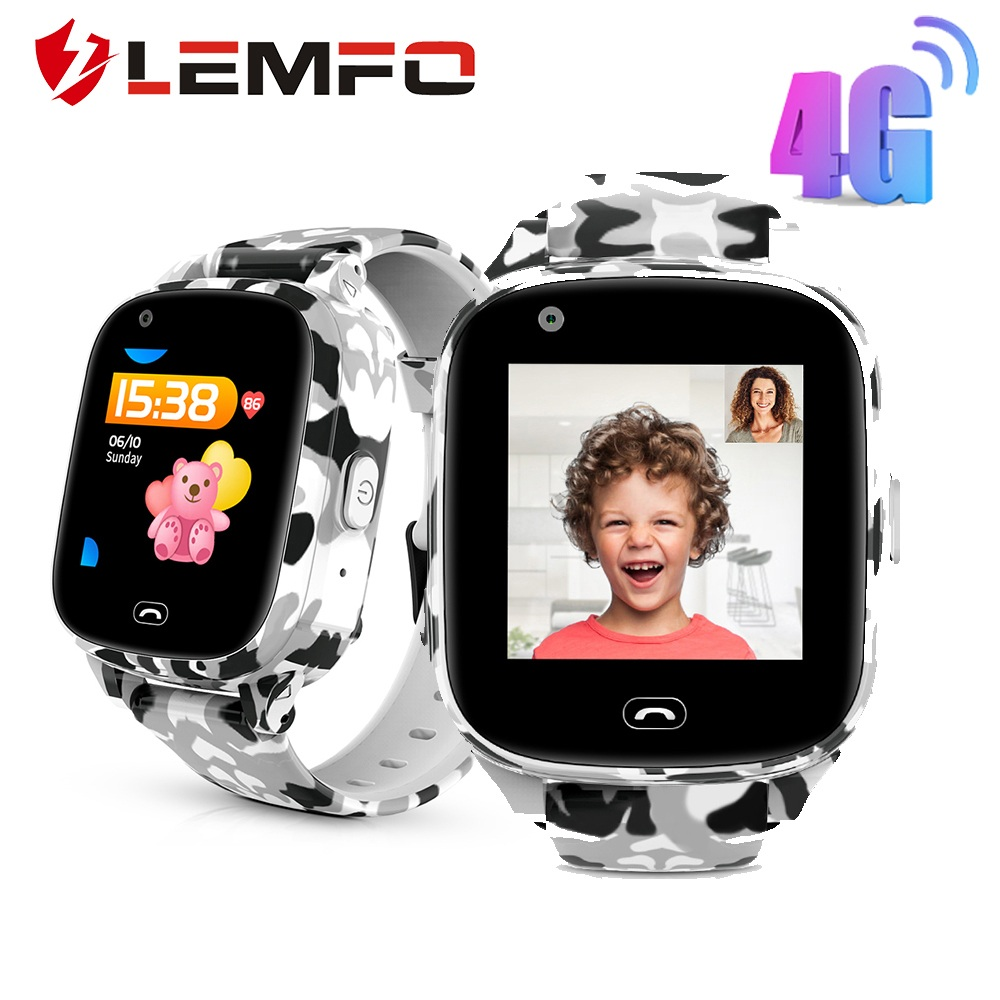 LEMFO LEC2 Pro 4G Kids Smart Watch GPS WIFI LBS Positioning Children's Smart Watch SOS Call Video Call Remote Monitoring 650mah|Smart Watches| |  - AliExpress