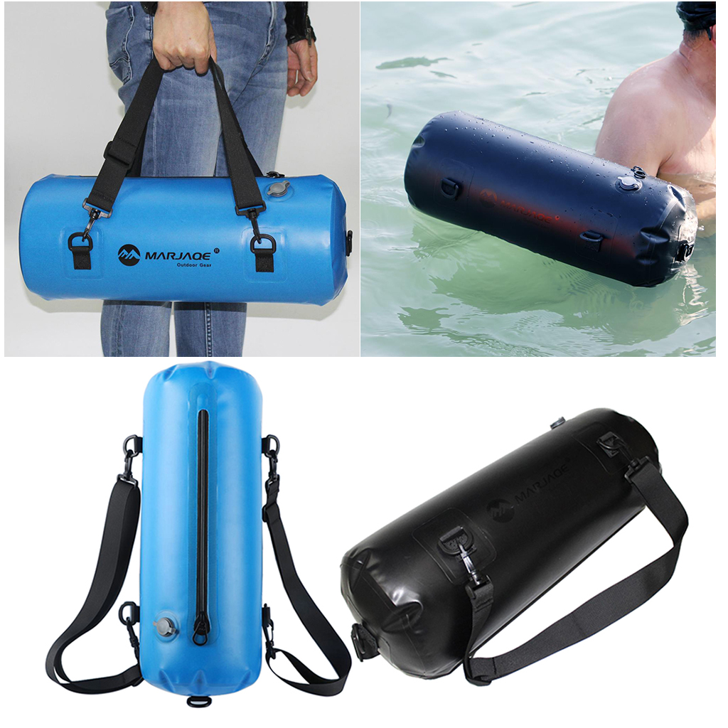 Perfeclan 2pcs 12L Waterproof TPU Dry Bag for Outdoor Swimming Kayaking Backpack|Rowing Boats| |  - title=