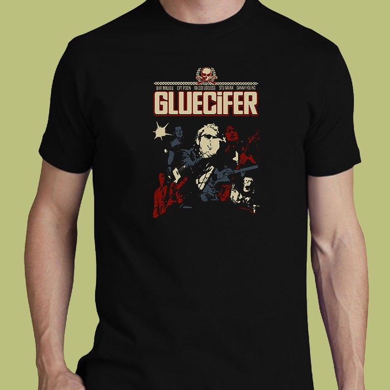 Gluecifer tee hard rock band S M L XL 2-3XL t-shirt The Hellacopters Bloodlights image