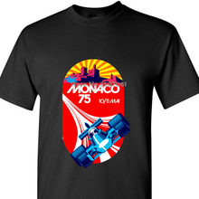 Monaco Grand Prix , Retro , 1971 , Auto Racer , Race , Speed , Formula , Car , Automoti Fashion T-shirts Slim Fit O-neck tops(China)
