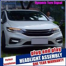 Scheinwerfer Für Honda Jed 2013 2020 LED/Xenon Abblendlicht Fernlicht LED tagfahrlicht sequentielle drehen signal 1 Paar
