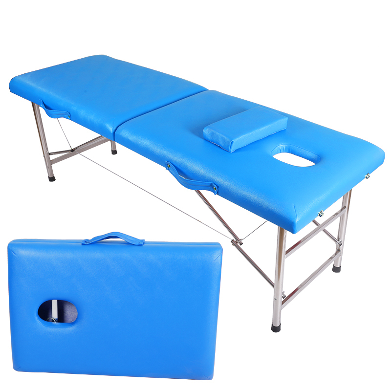 Folding Massage Bed Home With Portable Beauty Bed Massage Physiotherapy Embroidery Moxibustion Bed Reinforcement