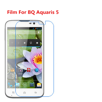 1/2/5/10 Pcs Ultra Thin Clear HD LCD Screen Protector Film With Cleaning Cloth Film For BQ Aquaris 5,Film For Casper Via V8. image