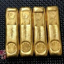 Monedas de colección de barras de oro artesanales antiguas