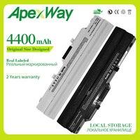 Apexway 4400 mah 11.1v bateria do portátil BTY S11 BTY S12 para msi vento u90 u100 u100x u210 para lg x110 para akoya mini e1210|laptop battery|for msi|battery for msi -