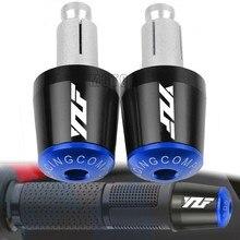 Для Yamaha YZF R1 YZF R6 YZFR6 YZF R125 YZFR15 R25 YZF R3 со всего мира 7/8 мм мотоциклетные ручки рукоятка Кепки конец Вилки