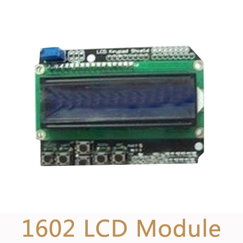 1602 Character LCD Keypad Input And Output Expansion Board For Arduino