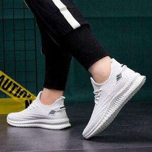 Image 3 - Mannen Casual Schoenen Lente Mesh Sneakers Zwart Loopschoenen Zomer Nieuwe Goedkope Sapatos De Mujer Mode Licht Ademende Mannen schoenen