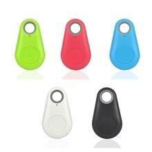 5 pcs/lot Anti-lost Alarm Smart Tag Wireless Bluetooth Tracker Child Bag Wallet Key Finder GPS Locator anti lost alarm itag