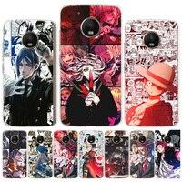 Funda de teléfono con dibujos animados de Anime japonés para Motorola Moto, G9, G8, G7 Power, G6, G5S, G5, E6, E5, E4 Plus, Play, G4 One Action, X4, cubierta EU