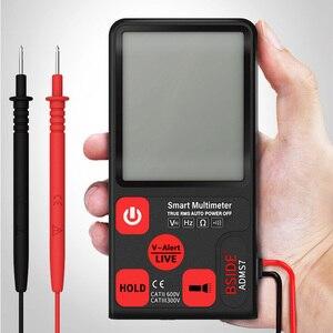 Mini multímetro digital bside adms9 s7 tester resistência voltímetro ncv teste de continuidade novo 2020 dropshipping