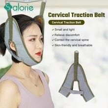 1 pièces cou dispositif de Traction cervicale soutien du cou bandes de civière col Cervical Traction cou étirement sangle cou bretelles
