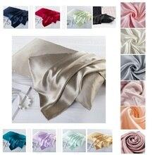 15 видов цветов тутовое шелковое Подушка Чехол Наволочка на молнии натурального шелка Подушка Чехол сатин для дома, отеля, постельные принадлежности