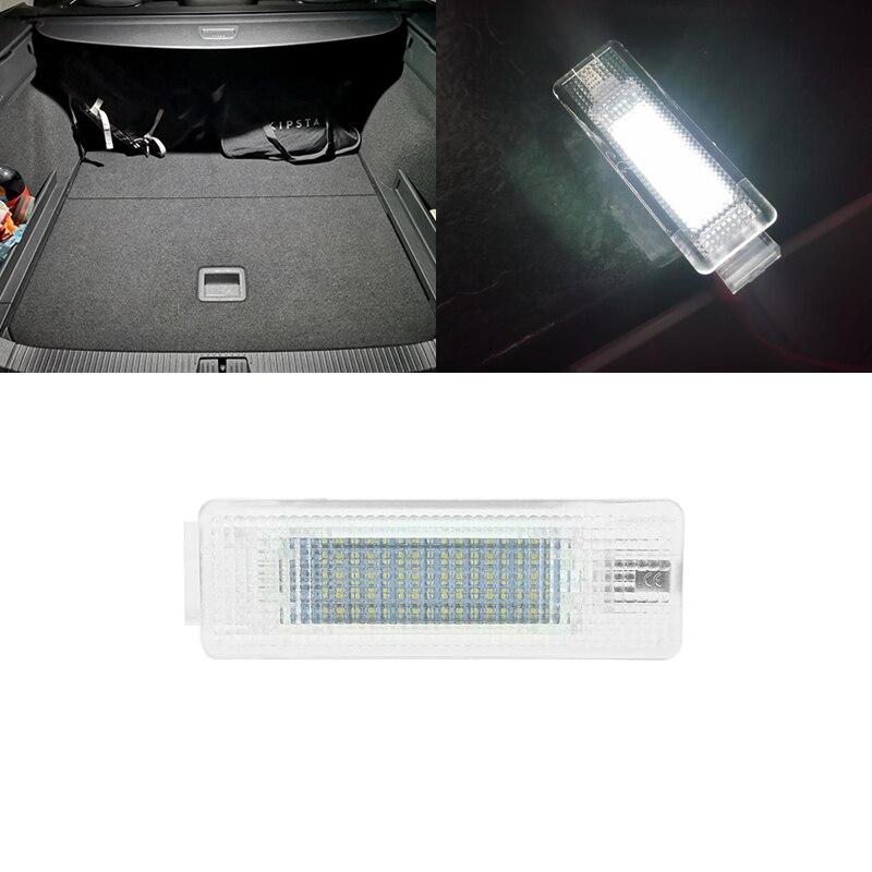 1 для VW Passat B6 B7 B8 седан универсал вариант 2006-2019 белый светодиод багажник внутренсветильник Светка лампы