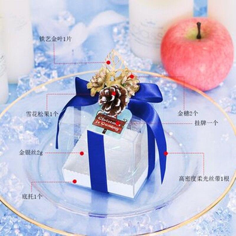 8x8x8 cm/9x9x9 cm/10x10x10 cm/12x12x12 cm cuatro tamaños 10 Uds. apple caja - 6