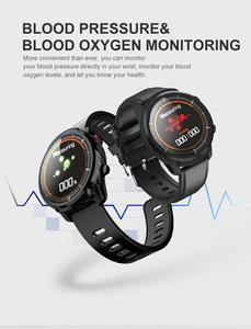 Image 5 - L3 สมาร์ทนาฬิกา IP68 กันน้ำ Full Touch Screen smartwatch Heart Rate Pedometer กิจกรรมสมาร์ท Tracker