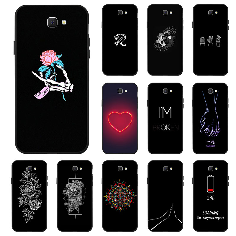 3D Painted Case For Samsung Galaxy J7 Prime Case Silicon Case For Samsung J7 2017 J8 2018 J7 Neo Core Plus Max Duo C8 2016 Cover image
