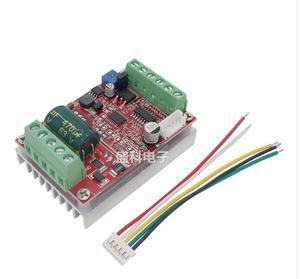 Image 2 - 6 72v 400w bldc 3 fase dc brushless controlador do motor pwm hall driver de controle do motor placa 12v 24v 48v 72v para a frente reverso