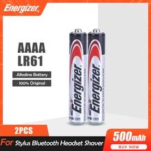 2 sztuk/partia Energizer AAAA 1.5V baterie alkaliczne E96 LR61 do pióra laserowego rysik słuchawki Bluetooth dotykowy długopis LR8D425 MN2500 MX2500