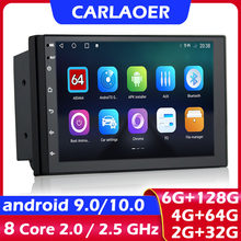 Android 9,0 2 Din Auto radio Multimedia Video Player Universal auto Stereo GPS KARTE Für Volkswagen Nissan Hyundai Kia toyota CR-V