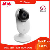 Yi caméra maison 2 1080P FHD caméra intelligente sécurité à domicile Mini Webcam sans fil caméra de vidéosurveillance Vision nocturne édition américaine et européenne Android IOS CMOS