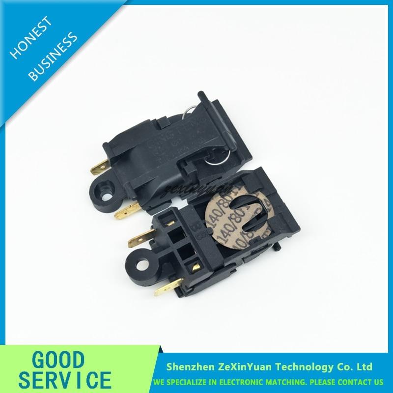 2PCS/LOT XE-3 JB-01E 13A 250V T125 46MM*21MM Electric Kettle Switch, Electric Kettle, Temperature Control Switch