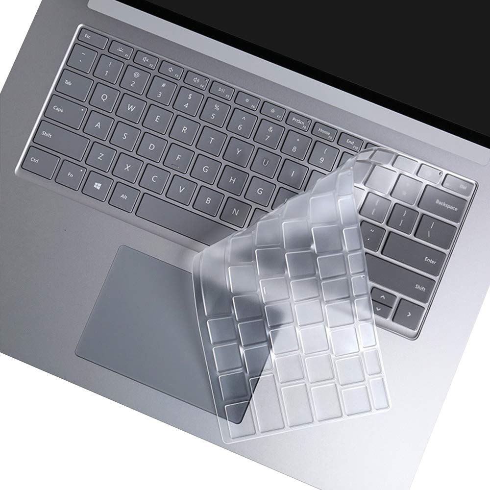 Ultra Thin Protective Skin TPU Keyboard Cover For Microsoft Surface 2 3 Pro 3 4 5 6 7 Surface Laptop 3 Book 10.8 12.3 13.3 2019