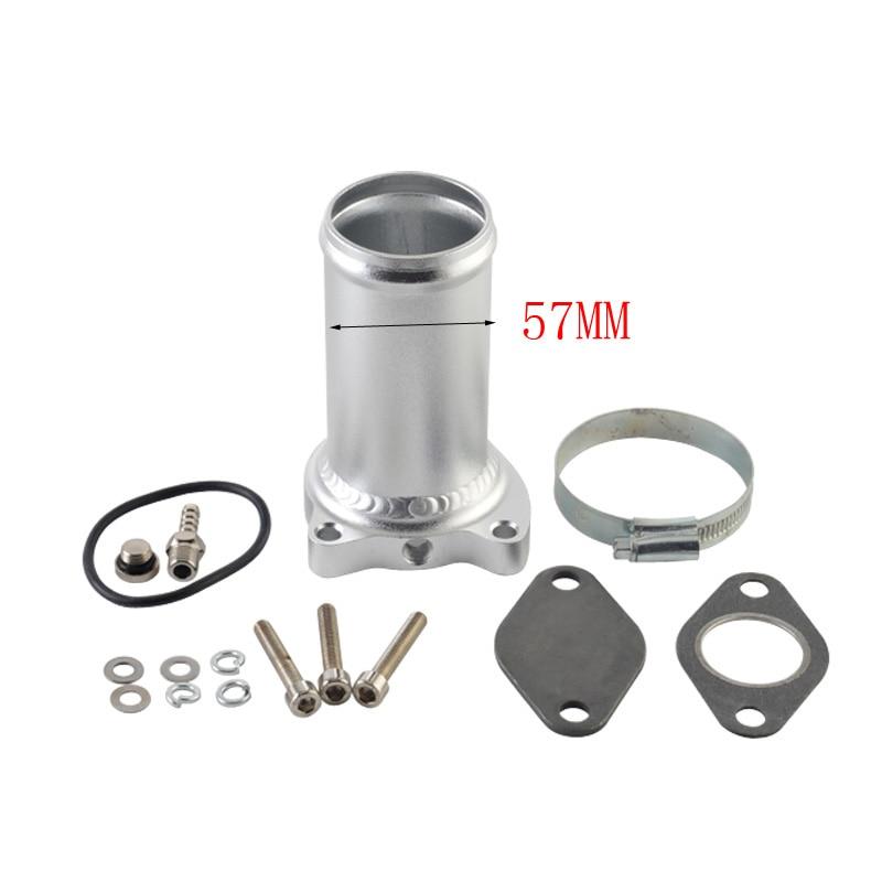 57MM vanne EGR remplacement tuyau costume pour audi seat VW 1.9 TDI 130/160 BHP 2.25 pouces Diesel egr supprimer kits