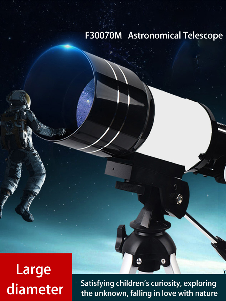 HD Professional Astronomical Telescope High Quality Astronomical Telescope Powerful Zoom Night Vision Deep Space Star View Moon