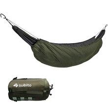 Taşınabilir hamak uyku tulumu Underquilt hamak altında termal battaniye hamak yalıtım aksesuarı için kamp için