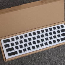 Матовые колпачки для ключей механическая клавиатура 104 клавиш PBT с подсветкой полупрозрачные двухслойные колпачки для MilkKey для RGB