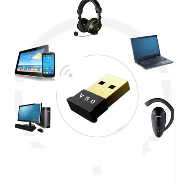 Creacube V5.0 Wireless USB Bluetooth 5.0 Adapter Bluetooth Dongle Music Receiver Adaptador Bluetooth Transmitter For PC RTL8761B 6