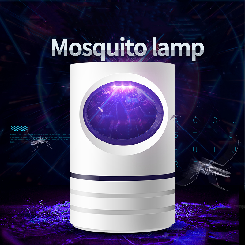 Led Mosquito Killer Lamp USB Ultraviolet Night Light  Electric Photocatalytic No Radiation  Anti Mosquito Lamp
