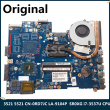 CPU Laptop Motherboard 5521 3521 LA-9104P Dell Inspiron HM76 for Cn-0rd7jc/0rd7jc/Rd7jc/..