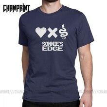 Camiseta de la serie de Robots de la muerte del amor de Sonnie de los hombres Camiseta de algodón ropa Vintage de manga corta camiseta impresa camiseta de talla grande