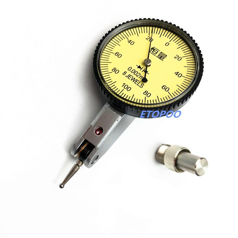 dial test indicator 0.002 mm Shockproof  dial indicator gauge